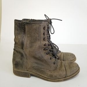 Bed stu size 7 leather distressed boots